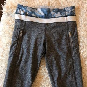 Lululemon Gray legging- size 4